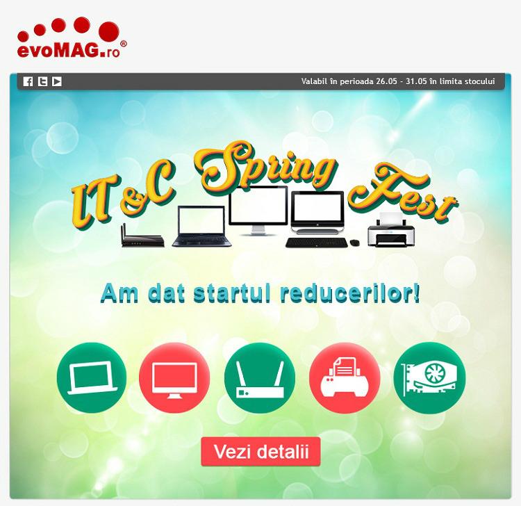Spring Fest la evoMAG