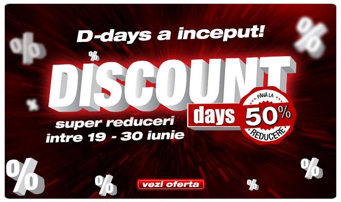 Discount Days la Flanco iunie 2015