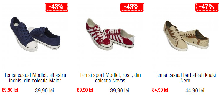Tenisi barbati outlet Modlet