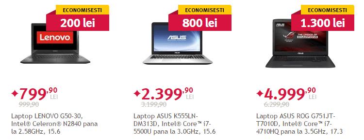 Laptopur Altex Saptamana devoratorilor de preturi