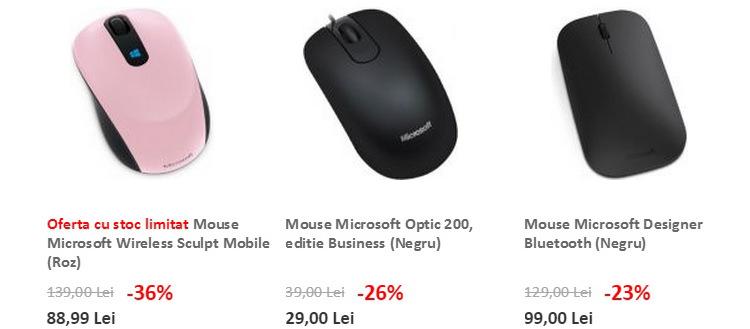 Mouse-uri Microsoft evoMAG
