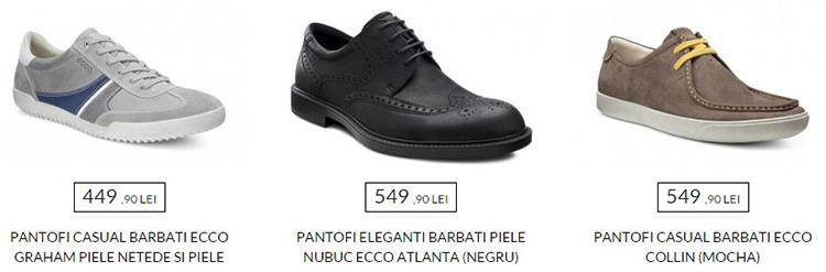 Pantofi barbatesti extra reduceri Ecco Shoes