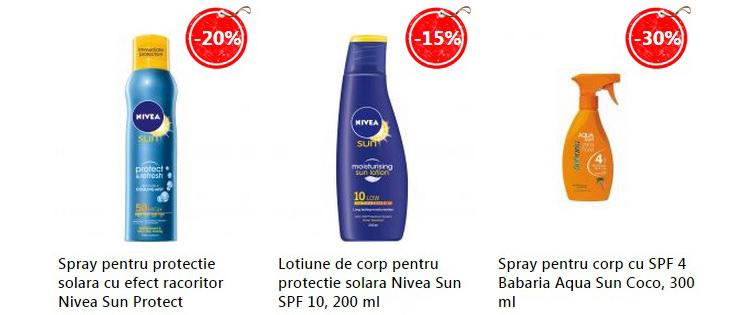 Produse protectie solara eMAG