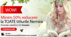 Reduceri la cartile Nemira Libris