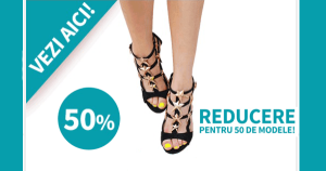 Super reduceri la sandale la Superpantofi