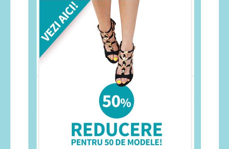 Reduceri sandale Superpantofi
