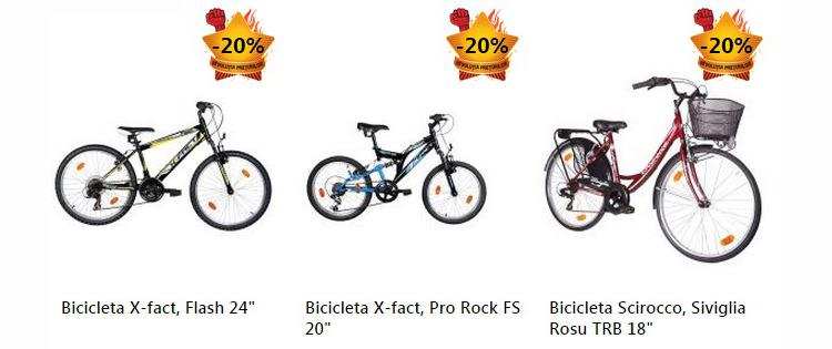 Revolutia Preturilor eMAG biciclete