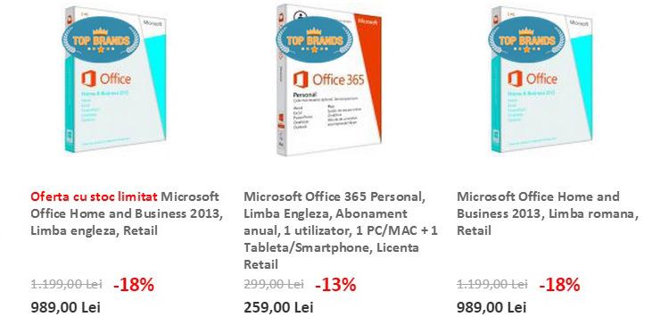 Sisteme operare Windows evoMAG