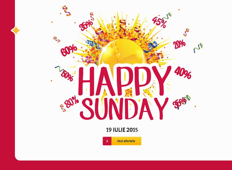 Oferte Happy Sunday Altex 19 iulie 2015