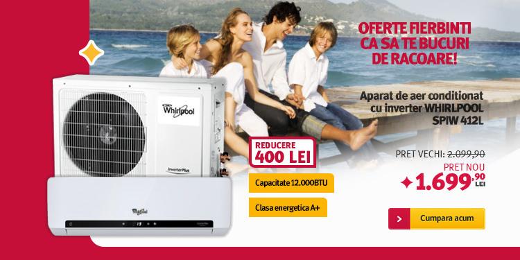 Altex promotie aparat aer conditioant Whirlpool 12000 BTU