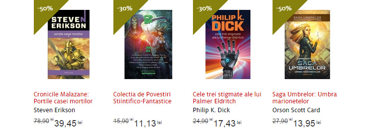 Carti SF oferta Nemira