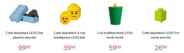 Cutii depozitare Lego Nichiduta