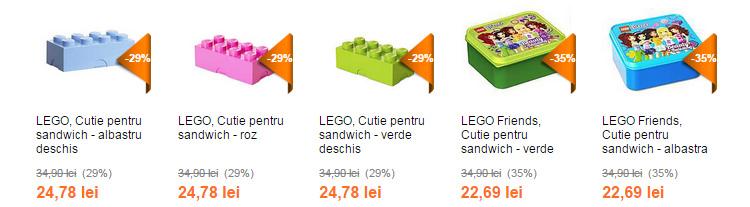 Cutii Lego Elefant
