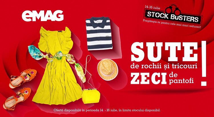 eMAG fashion Summer Stock Busters