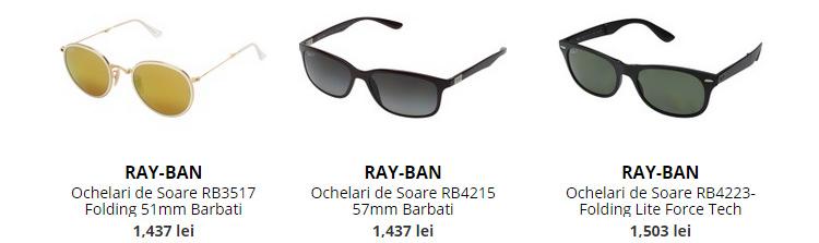 Ochelari soare Ray-Ban Boutique Mall