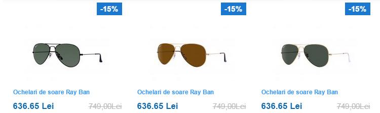 Ochelari soare Ray-Ban Conga