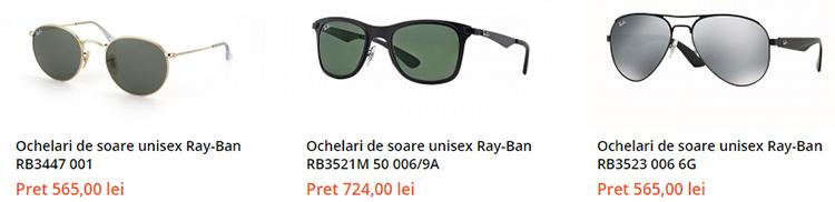Ochelari soare Ray-Ban Lensa