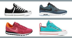 O vara activa cu reduceri la pantofi Nike si Converse de la eMAG