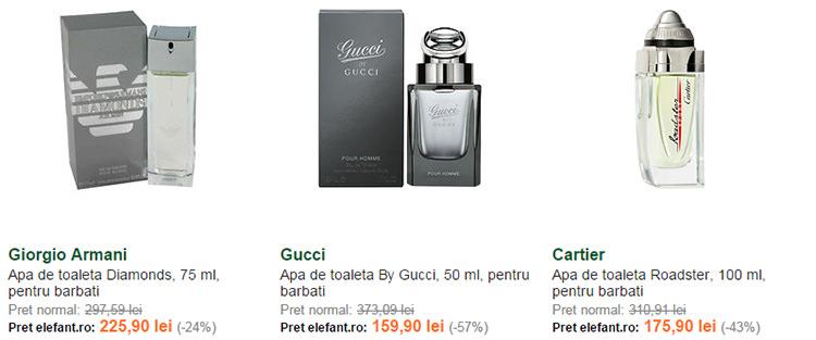 Parfumuri pentru barbati la Elefant