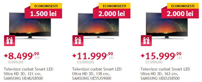 Promotii TV Samsung seria JS Altex