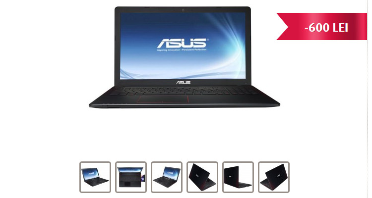 Reducere Altex laptop Asus F550JK-DM113D