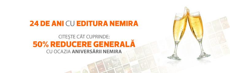 Sarbatoriti 24 ani Editura Nemira