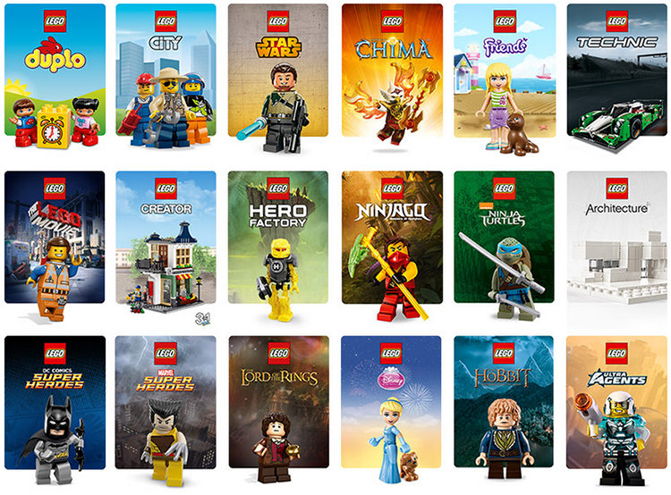 Serii seturi Lego