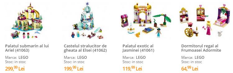 Seturi Lego Disney Princess Zambirici