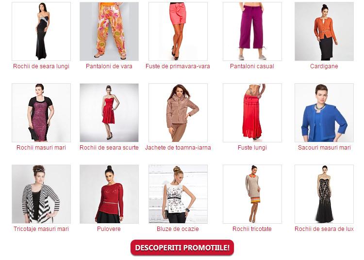 Articole vestimentare promotie Maxine