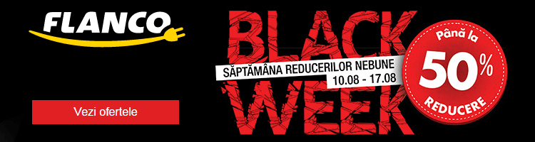 Reduceri de Black Week la Flanco august 2015