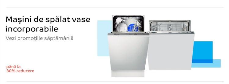 Masini spalat vase incorporabile la eMAG