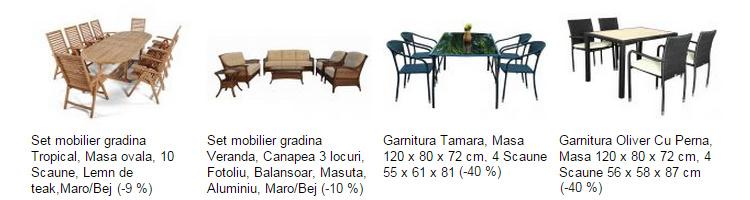 Seturi mobilier gradina eMAG