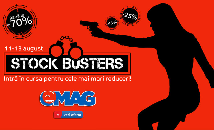 Stock Busters eMAG editia august 2015