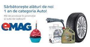 1 an categoria Auto eMAG