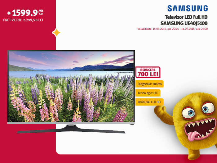 Altex promotie TV Samsung UE40J5100
