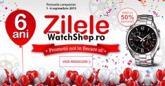 Campanie Zilele WatchShop