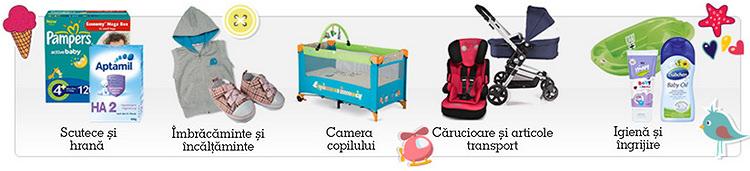 Categorii articole oferta Baby Days eMAG