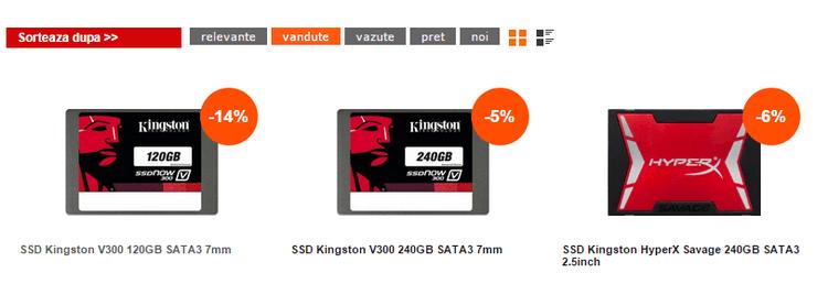 CEL SSD Kingston V300 120 GB