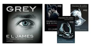 Seria 50 umbre romanul Grey E. L. James