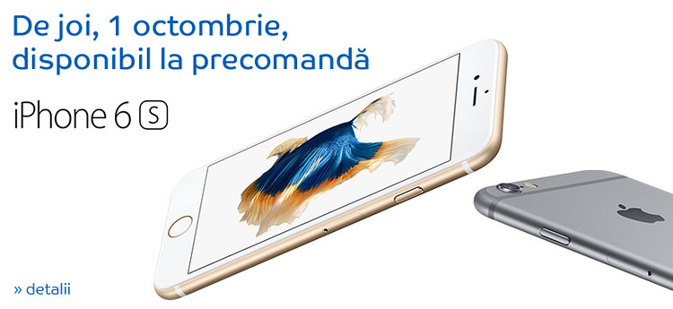 Precomanda iPhone 6 de la eMAG
