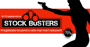 eMAG Stock Busters de toamna intre 8-10 septembrie 2015