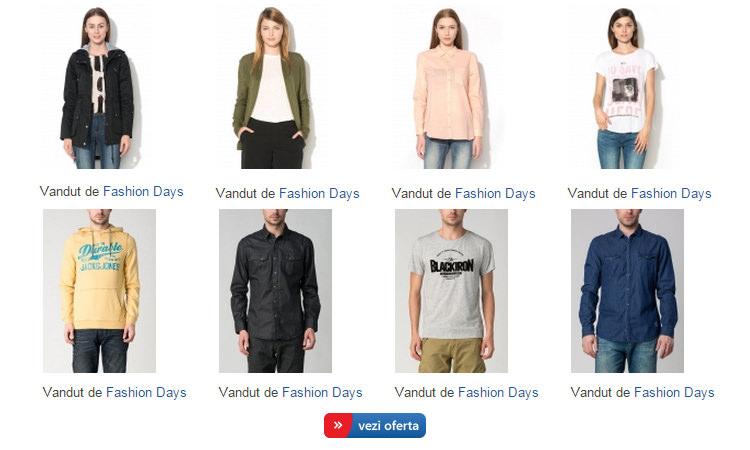 Fashion Days la eMAG
