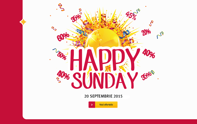 Happy Sunday la Altex in 20 septembrie 2015