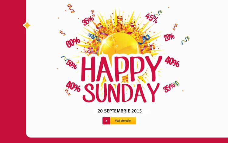 Happy Sunday la Altex in 20 septembrie 2015