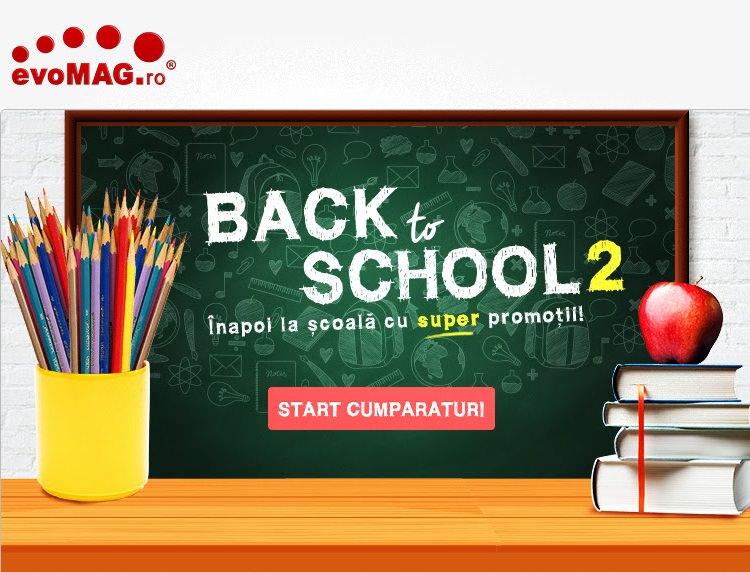 Oferte Back to School 2 evoMAG