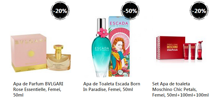 Parfumuri dama Stock Busters eMAG