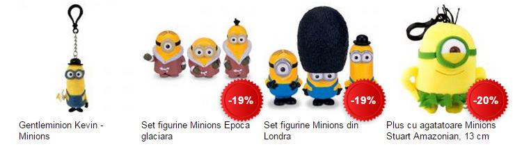 Plusuri figurine Minioni eMAG