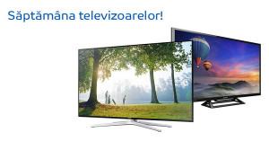 Reduceri de pana la 40% in Saptamana televizoarelor la eMAG