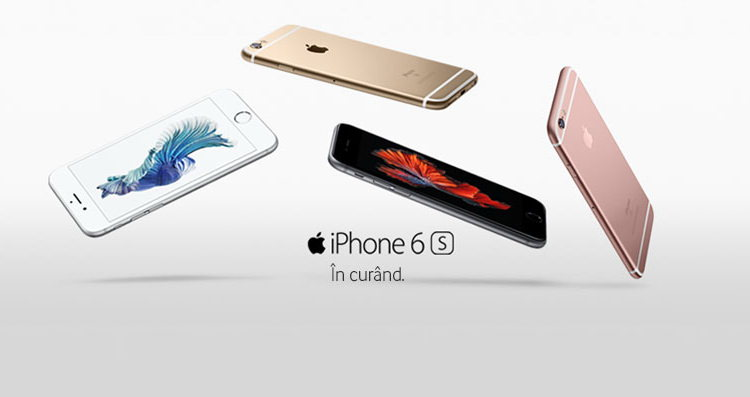 Vodafone precomanda iPhone 6s