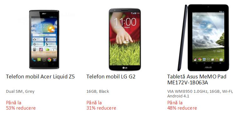 Acer LG Asus resigilate eMAG